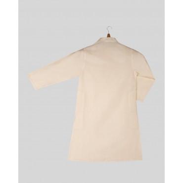 Silverthread Plain White Kurta