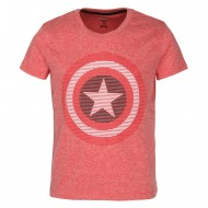 Captain America Red T-Shirt CA1EBT2991