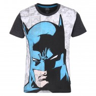 Batman Black White T-Shirt DC0FBT926