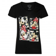 Mickey & Friends Black T-Shirt MF0FGT1020