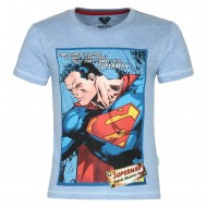 Superman Blue T-Shirt SP0FBT929