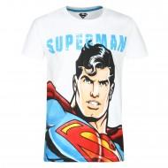 Superman White T-Shirt SP0FBT937
