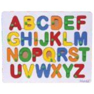 Wood O Plast Alphabet Tray English Upper Case