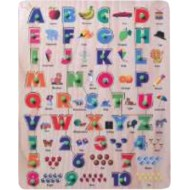 Wood O Plast English Alphabet and Numbers with Pictures