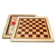 Wood O Plast Chess & Ludo