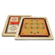 Wood O Plast Chinese Checker & Ludo