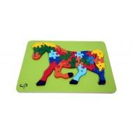 Meraki Dinosaurs Puzzle ABC
