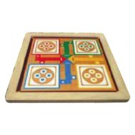 Wood O Plast Snake & Ladder and Ludo