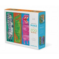 Crocodile Creek Make A Zoo Mix & Match Block Puzzle Stacking Sets Toy