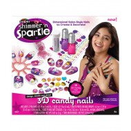 Cra Z Art Shimmer n Sparkle 3D candy nails