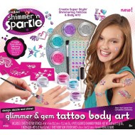 Cra Z Art Shimmer n Sparkle Glitter Glam Body Art Kit