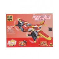 Fun Blox 3 in 1 Assembly Master 266 Pieces