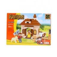 Fun Blox Farm Block Set Multicolor 168 Pieces