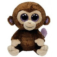 Jungly World Beanie Boo Coconut Monkey 6 inch
