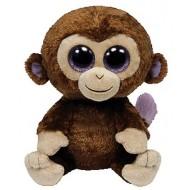 Jungly World Beanie Boo Coconut Monkey 6 inch