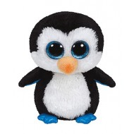 Jungly World Beanie Boos Waddles Penguin 6 inch