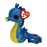Jungly World Beanie Boo Neptune Seahorse 6 inch
