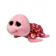 Jungly World Beanie Boo Shellby Turtle Pink 6 inch