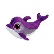 Jungly World Beanie Boo Flips Dolphin Purple 5 inch