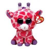 Jungly World Beanie Boo Twigs Giraffe Pink 6 inch