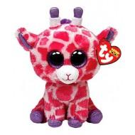 Jungly World Beanie Boo Twigs Giraffe Pink 6 inch