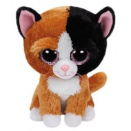 Jungly World Beanie Boo Plush Tan Tauri the Cat 6 inch