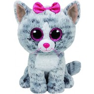 Jungly World Beanie Boo Kiki the Cat 6 inch