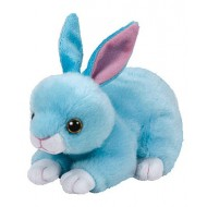Jungly World Beanie Babies Jumper Bunny Blue 6 inch