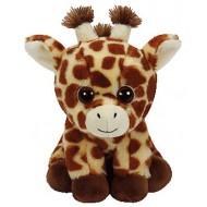 Jungly World Beanie Babies Peaches Giraffe 6 inch