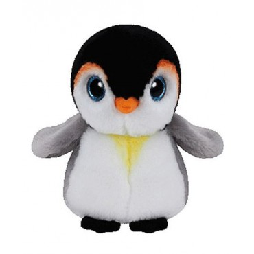Jungly World Beanie Babies Pongo Penguin 6 inch