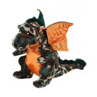 Jungly World Beanie Babies Razor Camo Dragon 6 inch