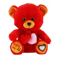 Jungly World Heartly Teddy Bear Red 10 inch