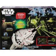 Uncle Milton Millennium Falcon UV Light Laser