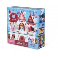 Crocodile Creek Little Architect Girl Builder Jumbo Block Set