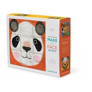 Crocodile Creek Make A Face Mix & Match Block Puzzle