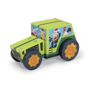 Crocodile Creek Tractor Puzzle & Play