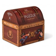 Crocodile Creek Pirates Treasure Double Fun Puzzle