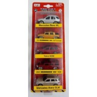 "Maisto 5 Pcs. Gift Set, 3"" Free Wheel Die cast Car Set"