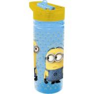 Minion Tritan Large Water Bottle 600ml Yellow Blue