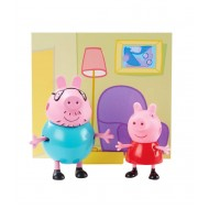 Peppa Pig Living Room Scene with Daddy Pig