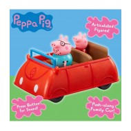 Peppa Pig Push Along Car with Daddy Pig