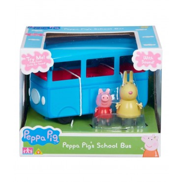 Peppa Pig Push Along School Bus