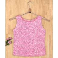 Silverthread Pretty Sleeveless Top Pink