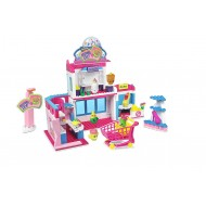 Shopkins Kinstructions Deluxe Shopville Mall 410 piece