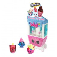 Shopkins Kinstructions Frozen Treat Stand Playset 98 piece