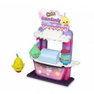 Shopkins Kinstructions Cotton Candy Stand Playset 64 piece