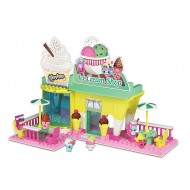 Shopkins Kinstructions Ice Cream Shop 185 piece