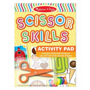 Melissa & Doug Scissors Skill Activity Pad