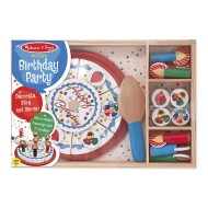 Melissa & Doug Birthday Party Wooden Play Food