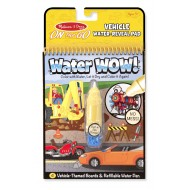 Melissa & Doug Water WOW Coloring Book Vehicles